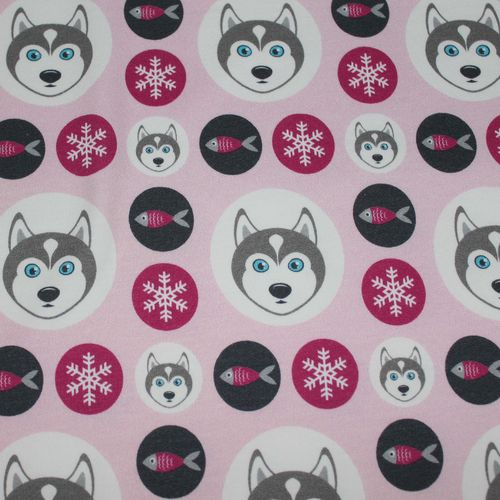 Husky Dots, pink, Sweat v. Hilco