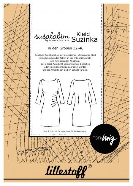 Schnittmuster Kleid SUZINKA - Lillestoff - Gr. 32-46