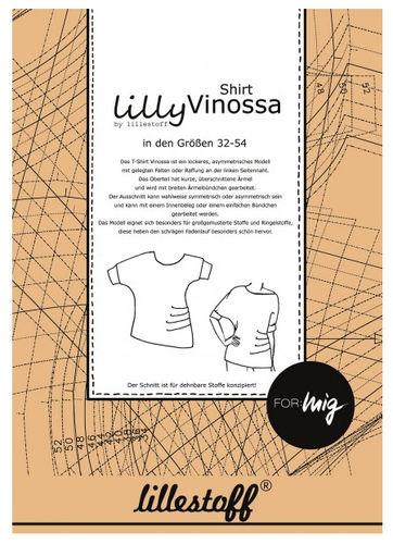 Schnittmuster T-Shirt VINOSSA - Lillestoff - Gr. 32-54
