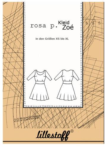 Schnittmuster Kleid ZOE - Lillestoff - Gr. XS-XL