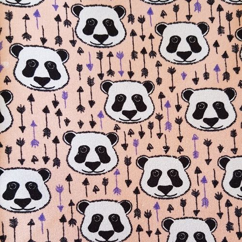 Bamboo Bear, French Terry, rosa