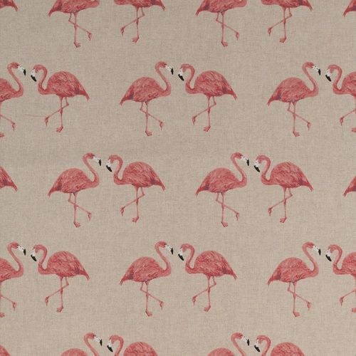 Flamingos, Canvas in Leinenoptik, Swafing