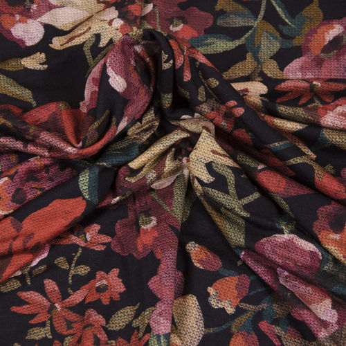 Winter-Flower, Viskose-Jersey, Hilco