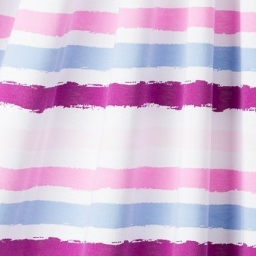 Sommerjersey Stripes 6, purple, Lillestoff