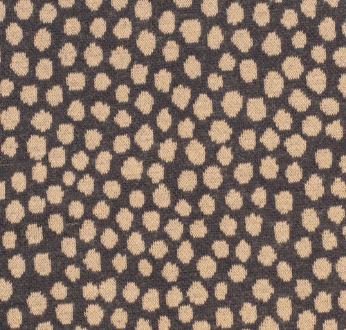 Mats Punkte, Jacquard-Jersey, Swafing, blau - Rest 1,35m