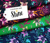 SHINE - Flourish and Shine, bordeaux - Bio-Jersey, Hamburger Liebe, Albstoffe