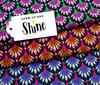 SHINE - Show up and Shine, bordeaux - Bio-Jersey, Hamburger Liebe, Albstoffe